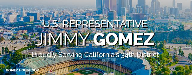 Representative Jimmy Gomez