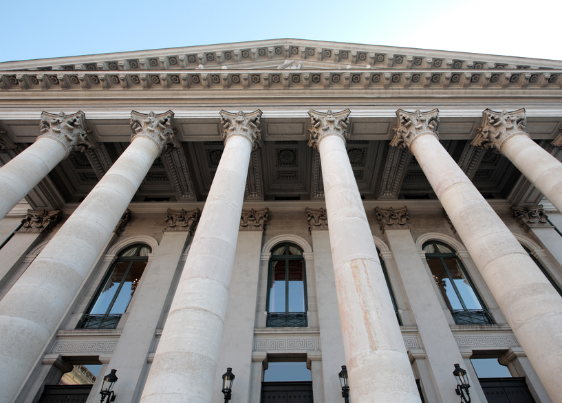 Federal Office Building entrance with columns