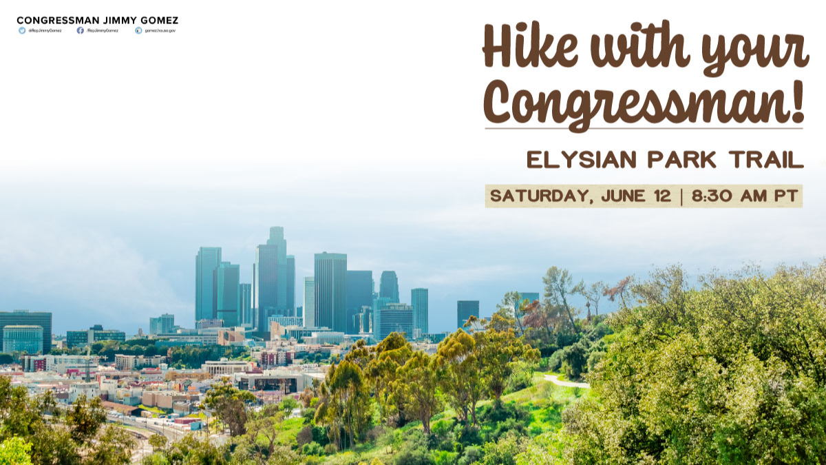 Hike with your Congressman