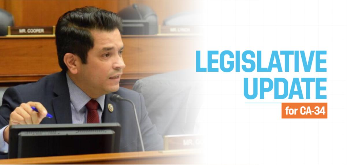 Rep. Gomez's Legislative Update